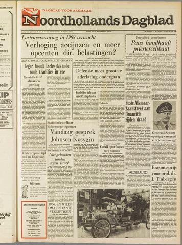 Noordhollands Dagblad : dagblad voor Alkmaar en omgeving 1967-06-23
