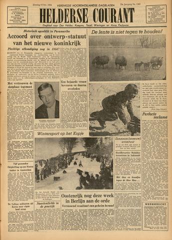Heldersche Courant 1954-02-09