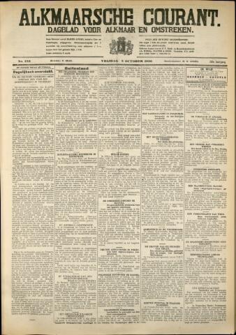 Alkmaarsche Courant 1930-10-03