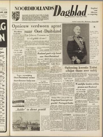 Noordhollands Dagblad : dagblad voor Alkmaar en omgeving 1954-08-07