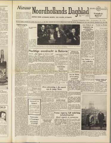 Nieuw Noordhollandsch Dagblad : voor Alkmaar en omgeving 1949-12-28