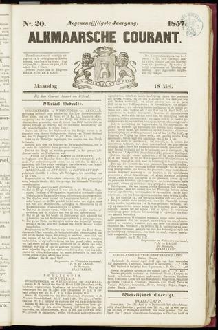 Alkmaarsche Courant 1857-05-18