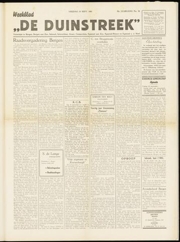 De Duinstreek 1961-09-15