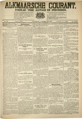 Alkmaarsche Courant 1930-02-03
