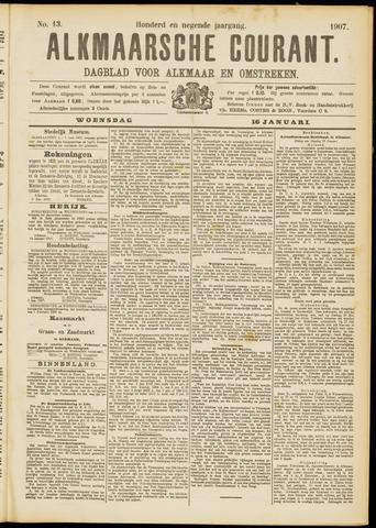 Alkmaarsche Courant 1907-01-16