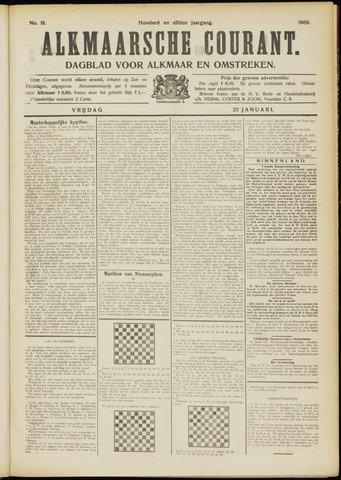 Alkmaarsche Courant 1909-01-22