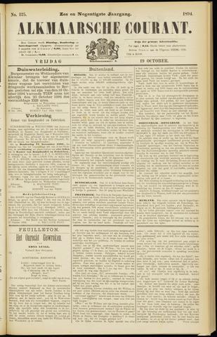 Alkmaarsche Courant 1894-10-19