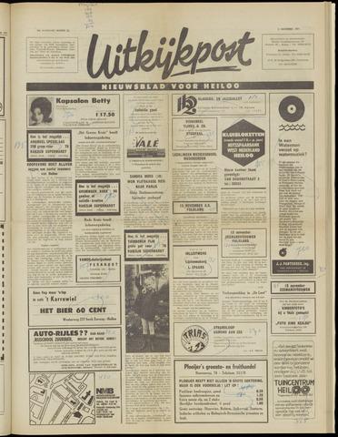 Uitkijkpost : nieuwsblad voor Heiloo e.o. 1971-11-03