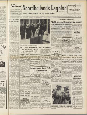 Nieuw Noordhollandsch Dagblad : voor Alkmaar en omgeving 1950-08-23
