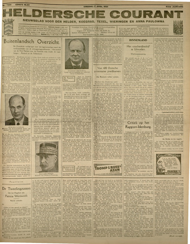 Heldersche Courant 1934-04-17