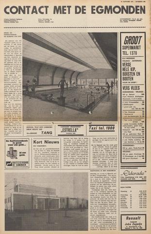 Contact met de Egmonden 1971-01-20