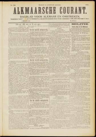 Alkmaarsche Courant 1915-07-09
