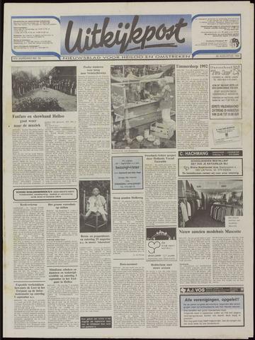 Uitkijkpost : nieuwsblad voor Heiloo e.o. 1992-08-26