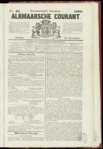 Alkmaarsche Courant 1860-11-11