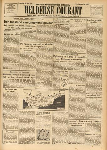 Heldersche Courant 1950-11-30
