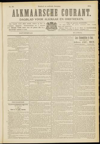 Alkmaarsche Courant 1914-04-16