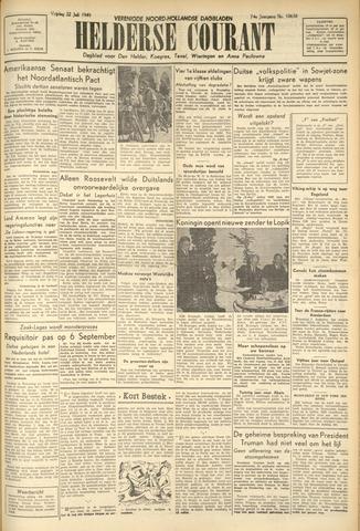 Heldersche Courant 1949-07-22