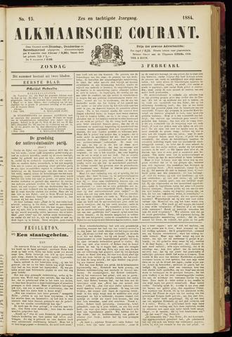 Alkmaarsche Courant 1884-02-03