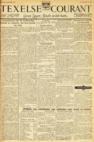 Texelsche Courant 1950-11-25