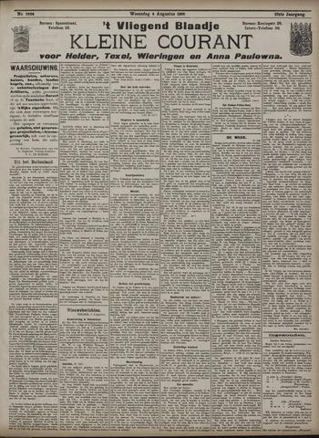 Vliegend blaadje : nieuws- en advertentiebode voor Den Helder 1909-08-04