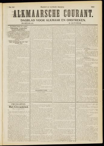 Alkmaarsche Courant 1912-10-16