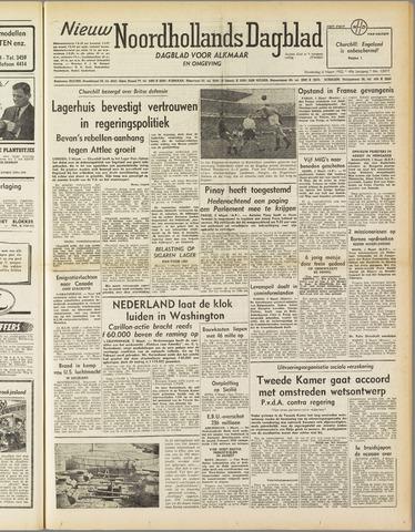 Nieuw Noordhollandsch Dagblad : voor Alkmaar en omgeving 1952-03-06