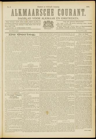 Alkmaarsche Courant 1918-01-08