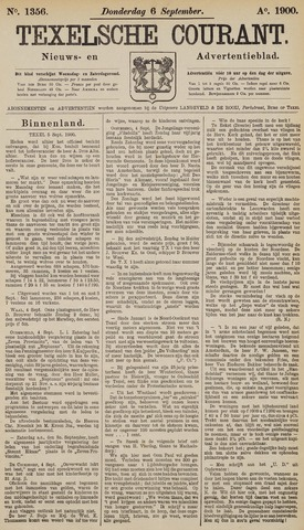 Texelsche Courant 1900-09-06