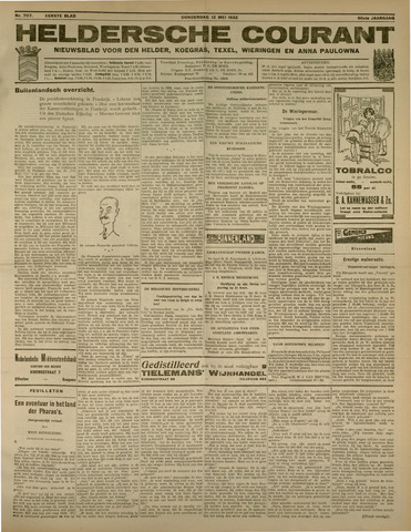 Heldersche Courant 1932-05-12