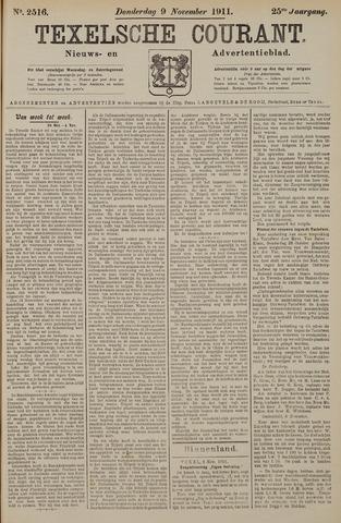 Texelsche Courant 1911-11-09