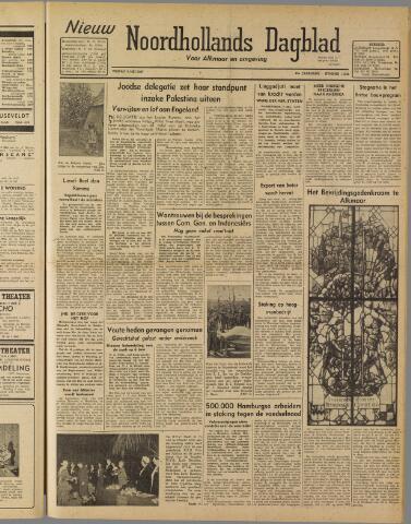 Nieuw Noordhollandsch Dagblad : voor Alkmaar en omgeving 1947-05-09