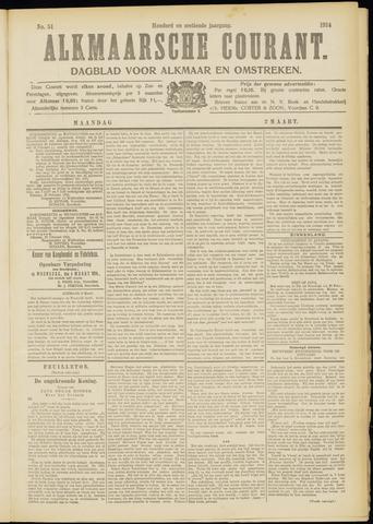 Alkmaarsche Courant 1914-03-02
