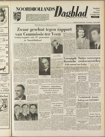 Noordhollands Dagblad : dagblad voor Alkmaar en omgeving 1953-12-01