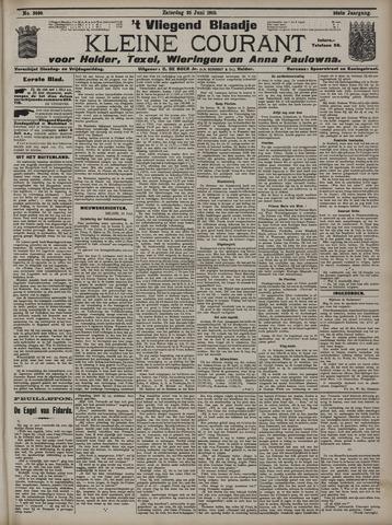 Vliegend blaadje : nieuws- en advertentiebode voor Den Helder 1910-06-25