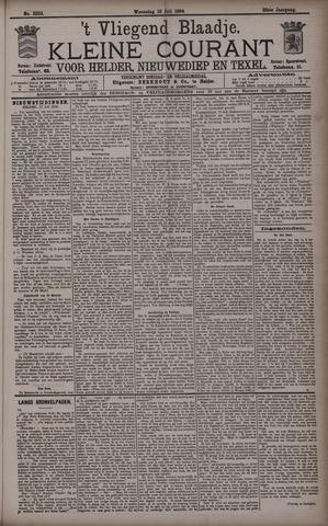 Vliegend blaadje : nieuws- en advertentiebode voor Den Helder 1894-07-18