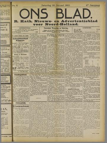 Ons Blad : katholiek nieuwsblad voor N-H 1910-01-22