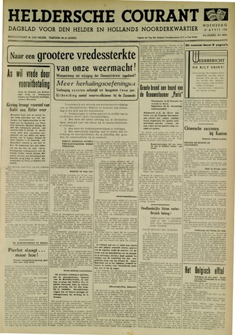 Heldersche Courant 1939-04-19