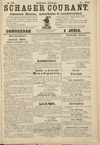 Schager Courant 1874-06-04