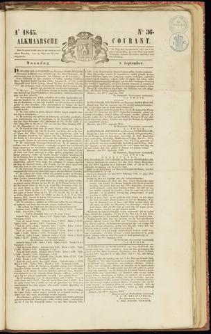 Alkmaarsche Courant 1845-09-08
