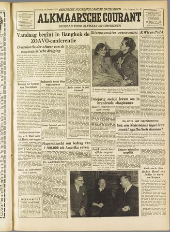 Alkmaarsche Courant 1955-02-23