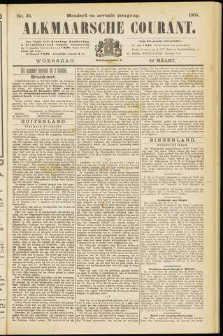 Alkmaarsche Courant 1905-03-22