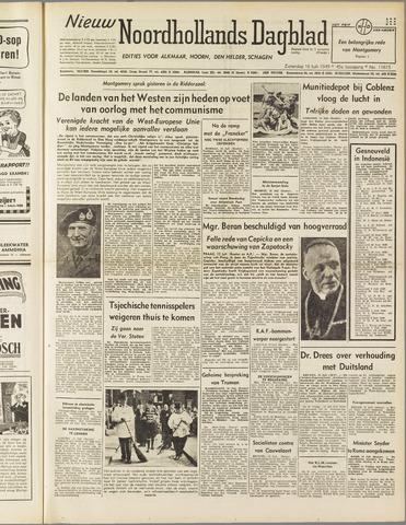 Nieuw Noordhollandsch Dagblad : voor Alkmaar en omgeving 1949-07-16