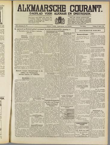 Alkmaarsche Courant 1941-04-25