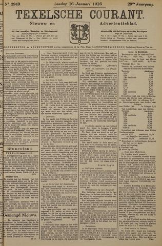 Texelsche Courant 1916-01-16