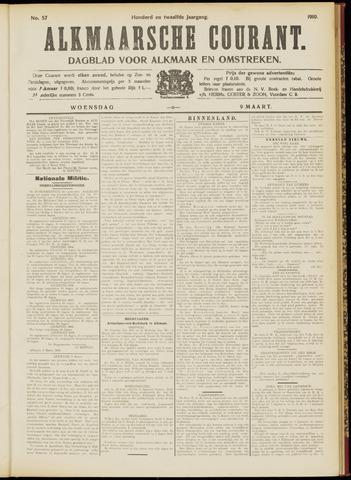 Alkmaarsche Courant 1910-03-09