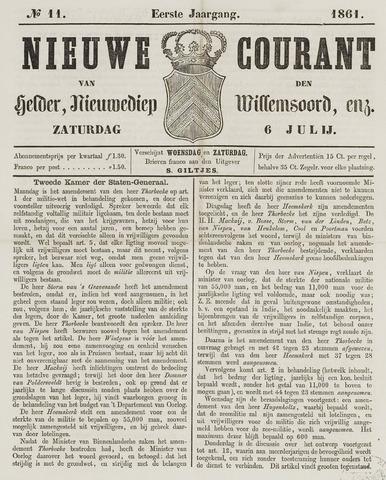 Nieuwe Courant van Den Helder 1861-07-06