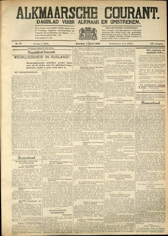 Alkmaarsche Courant 1933-04-03