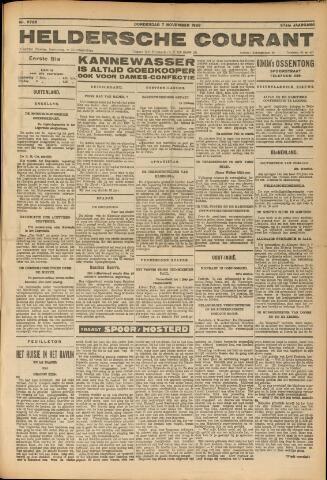 Heldersche Courant 1929-11-07