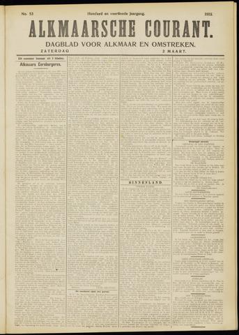 Alkmaarsche Courant 1912-03-02