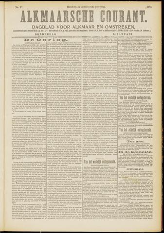 Alkmaarsche Courant 1915-01-14